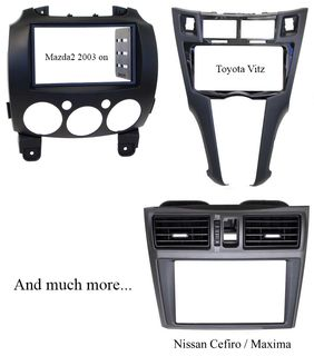 Stereo replacement dash kits