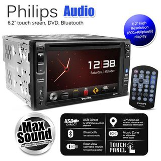 Philips CED1800BT/NAV stereo with 6.2