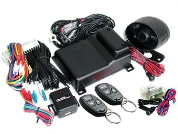 Mongoose M80G car security system with built-in Turbo timer...